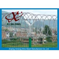 Wholesale Airport Razor Barbed Wire For Security Fence OEM / ODM Available from china suppliers
