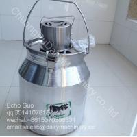 Wholesale 7L Demestic Aluminum Alloy Barrel Milk Mixer Machine For Milk Powder Yogurt Flour / Juce from china suppliers