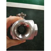 Wholesale Quick-Open Electric Ball Valve , Motorized 3 Way Stainless Steel Ball Valve from china suppliers