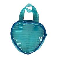 Wholesale Lovely Green Small Clear PVC Bags Backpack , Beauty Transparent Handbag from china suppliers