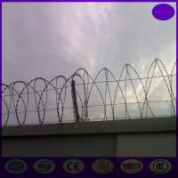 Wholesale made in china razor wire  cross type : bto-28 700mm coil ,core wire 2.5mm+-0.1mm from china suppliers