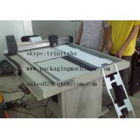 Wholesale roll material paper sticker hanging cutting small production making machine from china suppliers