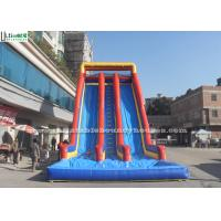 Wholesale Adults Inflatable Water Slides Giant 10m Height With Double Lanes from china suppliers