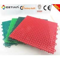 Wholesale Suspended Modular Sports Floors, Indoor Basketball Court Floor, Interlocking Gym Flooring from china suppliers