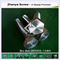Quality steel hex head  bolt for sale