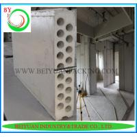 Wholesale Mgo Sound insulation and heat preservation concrete hollow lightweight partition wall pane from china suppliers