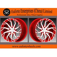 Wholesale SS wheels-54.1mm - 74.1mm CB 1pieceForged Aluminum Alloy Wheels Concave Blue Machine Face from china suppliers