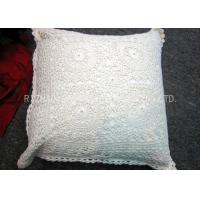 Wholesale 100% Cotton Hand Knitting Cushion Covers Jacquard Style For Home Decoration from china suppliers