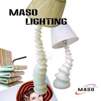 Wholesale Turnado Large Floor Lamp Resin Material Lighting MS-F1007 CE Approval Light Base from china suppliers