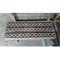 Wholesale Marble Mosaic Border Natural Stone Skirtings Decorative Moldings Interior Stone Mouldings from china suppliers
