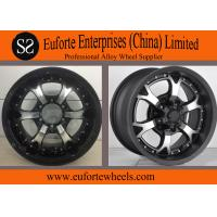 Wholesale Strong Spokes SUV 16x8 off road wheels , 15 Inch Alloy Wheels from china suppliers
