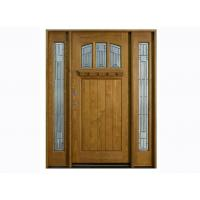 Wholesale Inward / Outward Swing Exterior Timber Doors 2000 * 800 * 40 mm from china suppliers