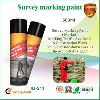 Quality Line Temporary Marking Spray Paint For Traffic Accident 500ml , Non Toxic for sale