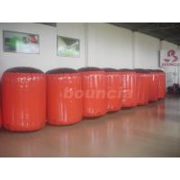 Wholesale Red Inflatable Cylinder Paintball Bunker Used On The Inflatable Bunkers from china suppliers