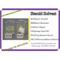 Wholesale Steroid Solvent Polyethylene Glycol (PEG) PEG 400 / PEG 600 CAS No 25322-68-3 from china suppliers