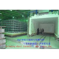 Quality Grinding wheel furnace 30m³ 1500℃ Natural gas kiln China furnace company for sale