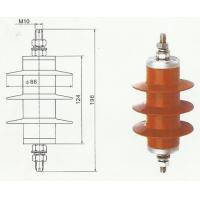 Quality 5KA  heavy duty Lightning Surge Arrester gapless polymeric MOA for Transformer YH5WS for sale