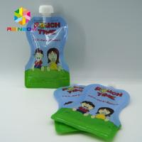 Wholesale Juice Drink Spout Pouch Bag / Reusable Baby Food Spout Pouch With Leak Proof Ziplock from china suppliers