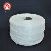 Wholesale Electrical Cables Polypropylene Yarn Low Shrinkage White Colored 18000D - 270000D from china suppliers