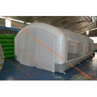 Buy cheap Portable Inflatable Car Paint Spray Booth White Large Benliner Booth from wholesalers