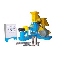 Wholesale Dry Pet Food Extruder Animal Feed Pellet Machine Driven By 15KW Motor from china suppliers