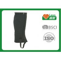 Wholesale Layo Lightweight Hiking Gaiters , Waterproof Ankle Gaiters For Hiking from china suppliers
