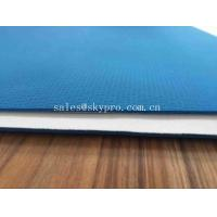 Wholesale 4mm Thick Blue Anti Slip Fitness Jute Custom Printed Exercise Washable Waterproof PVC Yoga Mat Eco Friendly from china suppliers