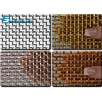 Wholesale Flat-Wire Decorative Mesh Fandango Bronze from china suppliers