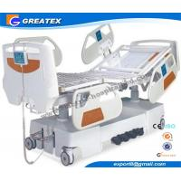 Wholesale Removable Electric Nursing Bed with Steel Guard Rails , Seven Function electric medical bed from china suppliers