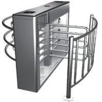 Wholesale Two-way Direction Automatic Rotation Full Height Turnstile with LED Display for Apartment from china suppliers