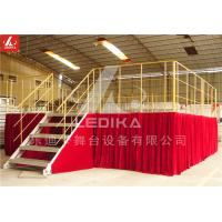 Wholesale Boxing Match Aluminum Stage Platform Adjustable Disassemble Stable Staging Platform from china suppliers
