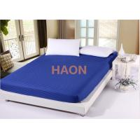 Wholesale Dense Twin Full Queen King Size Bed Sheets Cover , Hotel White Bed Linen from china suppliers