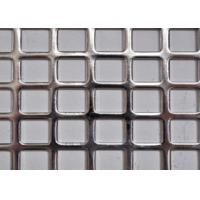 Wholesale Stainless Steel Square Perforated Metal Straight Row High Dimensional Accuracy from china suppliers