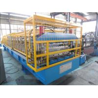 Wholesale High Frequency Dual Layer Roll Forming Machine Wall Panel Structure from china suppliers