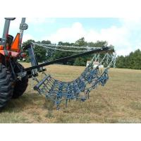 Wholesale 8FT Chain Harrow Landscape Lawn Drag Arena ATV Rake,Flexible Pasture Harrow with Drawbar from china suppliers