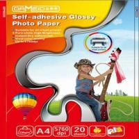 Wholesale Self-adhesive High-glossy Photo Paper with Strong Viciousness and Clear Image  from china suppliers
