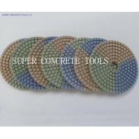 Wholesale 100mm Neapolitan Diamond Wet Polishing Pads from china suppliers