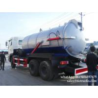 Wholesale vacuum tanker truck-16000L- Cesspool Emptying Truck EURO 4/5 App:8615271357675 from china suppliers