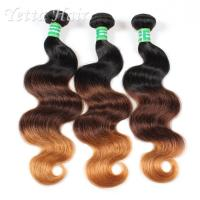 Wholesale Peruvian 7A Grade Virgin Hair / Double Weft  Human Hair Weave from china suppliers