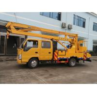 Wholesale JAPAN brand Isuzu 4*2 LHD 16m aerial working truck for sale, Best price ISUZU 14m-16m hydraulic bucket truck for sale from china suppliers