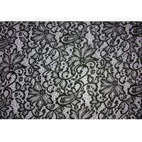 Wholesale Fashion design Quality S404 Textile Nylon Spandex Lace Dress Guipure Lace Fabric from china suppliers