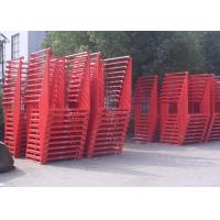 Wholesale Warehouse Cold Rolling Steel Portable Stacking Racks For Flexible Material Handling from china suppliers