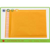 Wholesale Gold Yellow 8  X 11 Inch Open End Bubble Pouch Bags , Different Size Kraft Mailing Bags from china suppliers