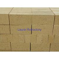 Wholesale High Alumina Refractory Fire Bricks For Ceramic Tunnel Kiln , Iron Making Furnaces Firebrick from china suppliers