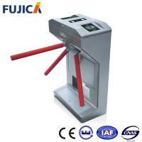 Quality Half Height Tripod Turnstile With Intelligent Card Reader And Management Software for sale