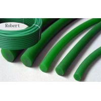 Wholesale SGS Approval Rough Polyurethane Round Belt Green Color For Glass Industry from china suppliers