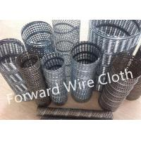 Buy cheap Round Hole Perforated SS 316 / 304 Carbon Steel Spiral Welded Tube Galvanized from wholesalers