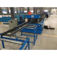 Buy cheap Steel Channel Ladder Cable Tray Making Cold Roll Forming Machine 10 - 12 m / min from wholesalers