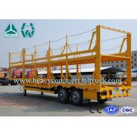 Wholesale Light Weight Car Carrier Semi Trailer Hydraulic Lifting Vehicle Hauling Trailers from china suppliers