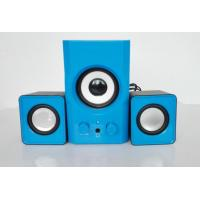 Wholesale Creative Blue 2.1 Ch Laptop Computer Speakers USB Powered High Fidelity from china suppliers